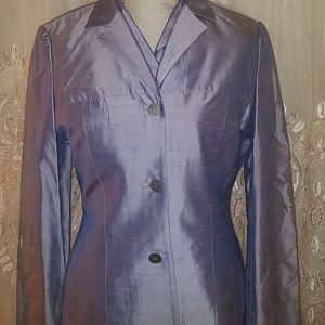 Barami Couture three piece silk suit